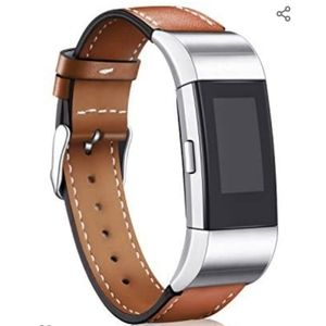 Fitbit Charge 2 with Leather Wristband and…